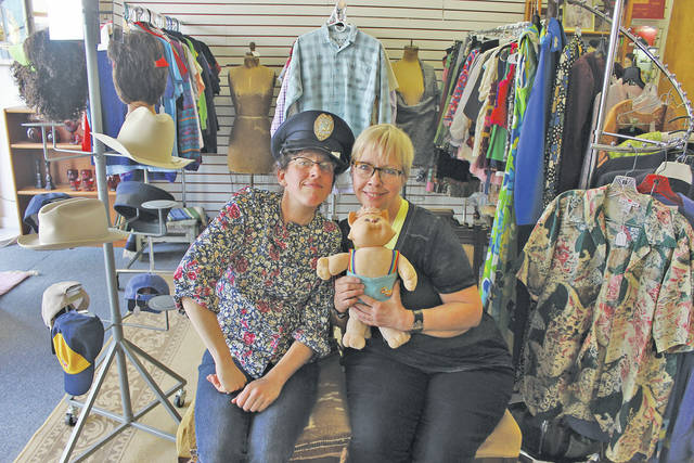 Laurel Kirtz and Kate Harvey are co-owners of the new vintage and consignment store All Things Great at 16 South Main St.