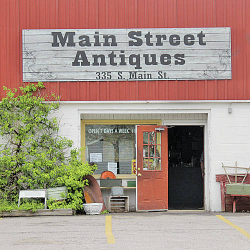 The cause of a fire at Main Street Antiques is under investigation by Oberlin firefighters.