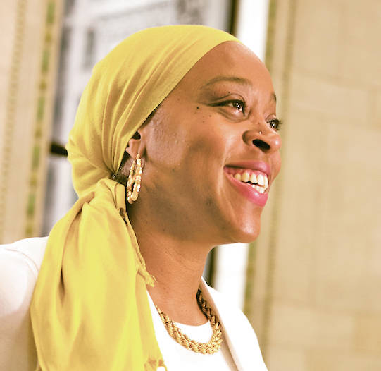 Su'ad Abdul Khabeer is an associate professor of American culture at the University of Michigan. She will speak at Oberlin College's baccalaureate ceremony.