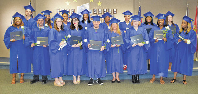 Lorain County JVS Adult Career Center adult diploma graduates celebrate June 13.