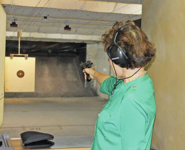 Janet Garrett of Oberlin, a candidate for Ohio's Fourth Congressional District, has been a recreational gun use and owner for 10 years.