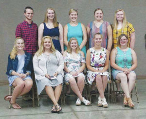 FFA members honored at Scholarship Night
