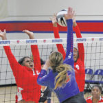 VOLLEYBALL: A win and two losses