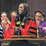 Ambar praised for boldness at inauguration