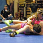 Campbell excels on the mat
