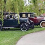 Sauder Village displaying antique cars
