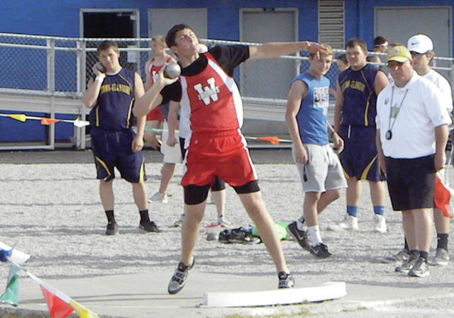 Kyle Zirkle is a returning thrower for the Wauseon boys track and field team this season.