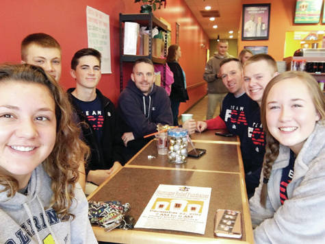 Wauseon FCA leaders met at Biggby Coffee on Airport Highway. The business donated a portion of their sales during a four-hour period to benefit the Hurricane Relief Project.