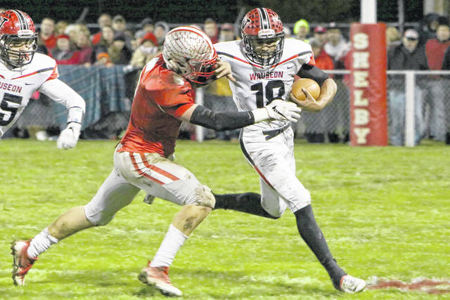 Xavier Torres of Wauseon carries the ball during the playoffs last season. The Indians will look to return to the postseason in Region 14.