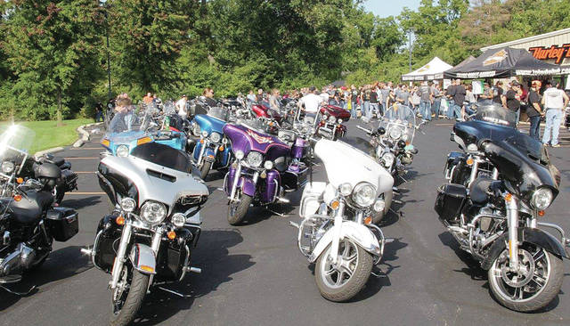 About 1,200 people participated in last year's Memorial Ride honoring Sierah Joughin.