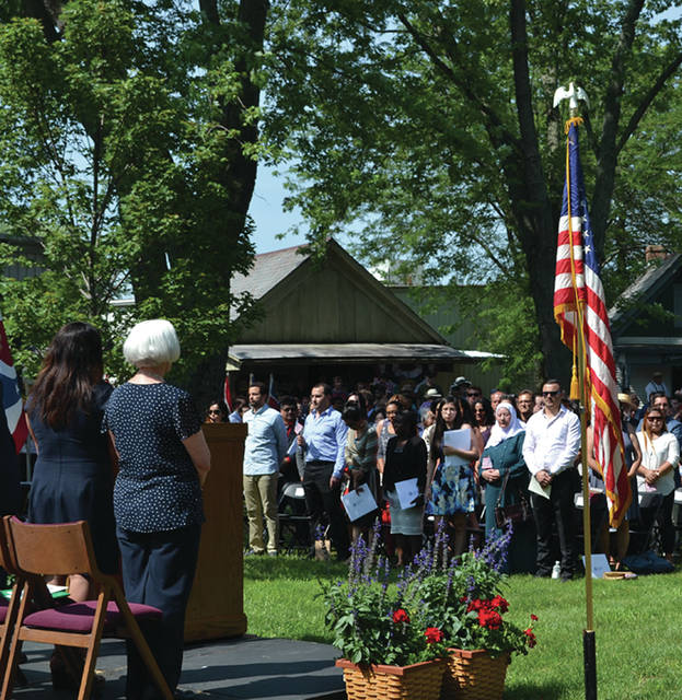 A naturalization ceremony will be held Wednesday, July 4, at Sauder Village in Archbold.