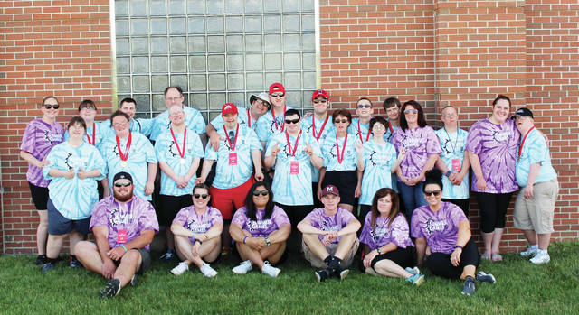 The Fulton County Jaguars Special Olympics team