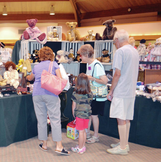 Sauder Village will present the 35th Annual Doll and Teddy Bear Show and Sale at Founder's Hall and the popular Antique Bicycle Event, both on Aug. 4-5.