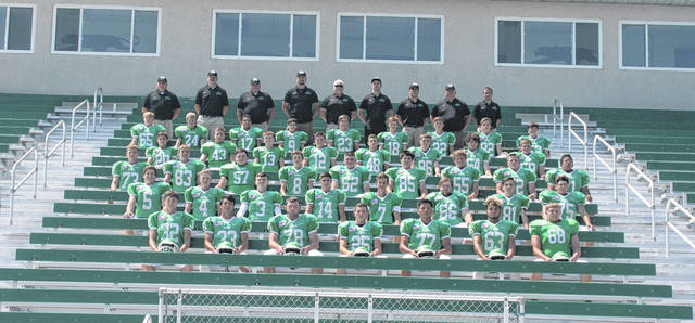 The 2018 Delta football team.