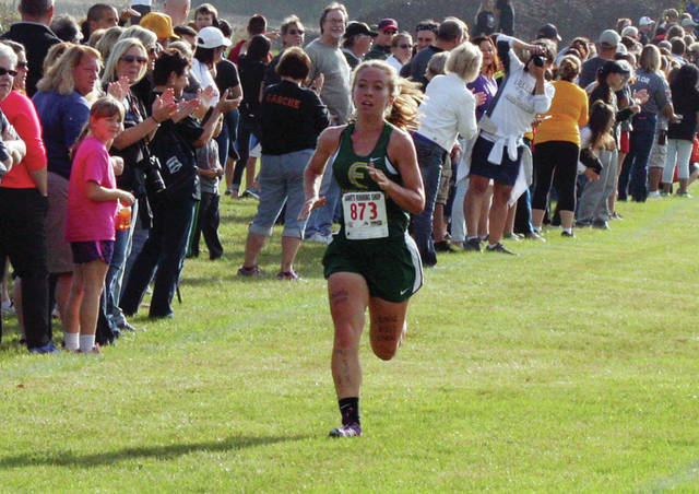 Sarah Schwan returns for her senior season at Evergreen after winning the individual league championship last year.