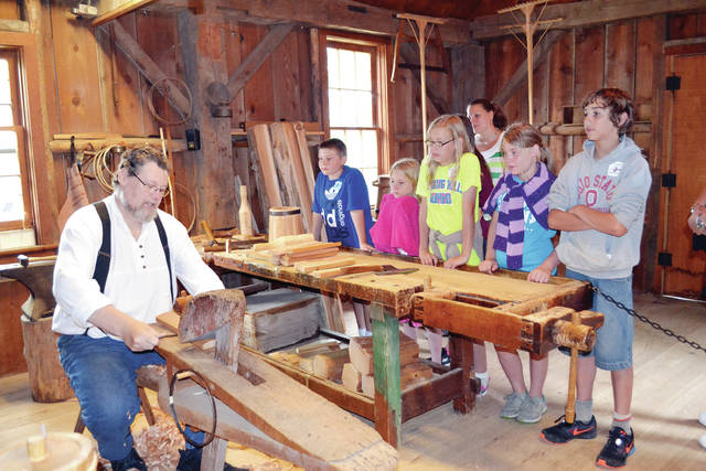 Sauder Village's Home School Appreciation Days will be held Sept. 4-8 and Sept. 11-15.