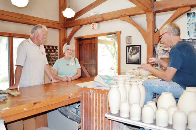 'Artisans Week' celebrates the talented men and women who ply their crafts at Sauder Village.
