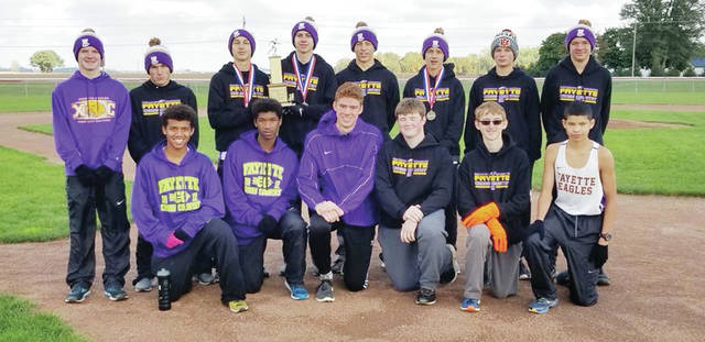 The Fayette boys cross country team claimed the Buckeye Border Conference title Saturday at the league meet. Pettisville took home the girls title.
