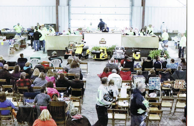 The annual Wauseon Rotary Club Auction will be held Saturday at Spangler Arena at the Fulton County Fairgrounds.