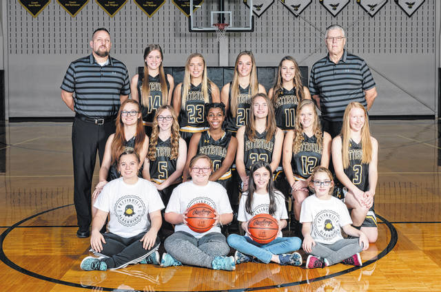 The 2018-19 Pettisville girls basketball team.