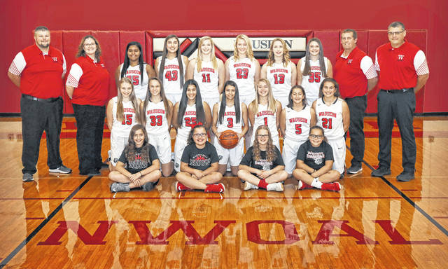 The 2018-19 Wauseon girls basketball team.