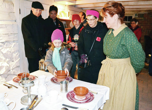 """""""Yuletides of Yesteryear"""" will be held Nov. 14 and Dec. 1, 7, and 8 at Sauder Village in Archbold."""