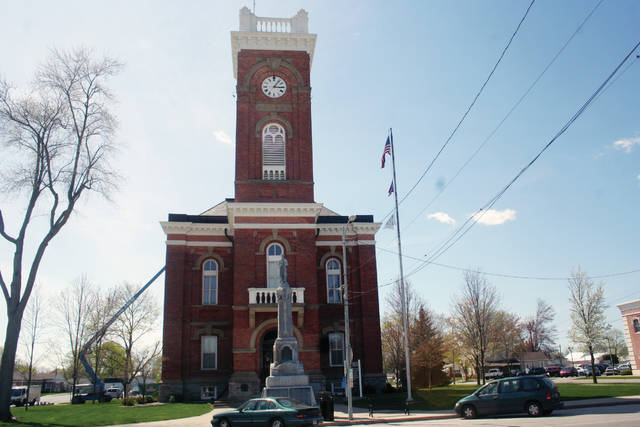 Renovations estimated to total $3.84 million are now underway at the Fulton County Courthouse in Wauseon.
