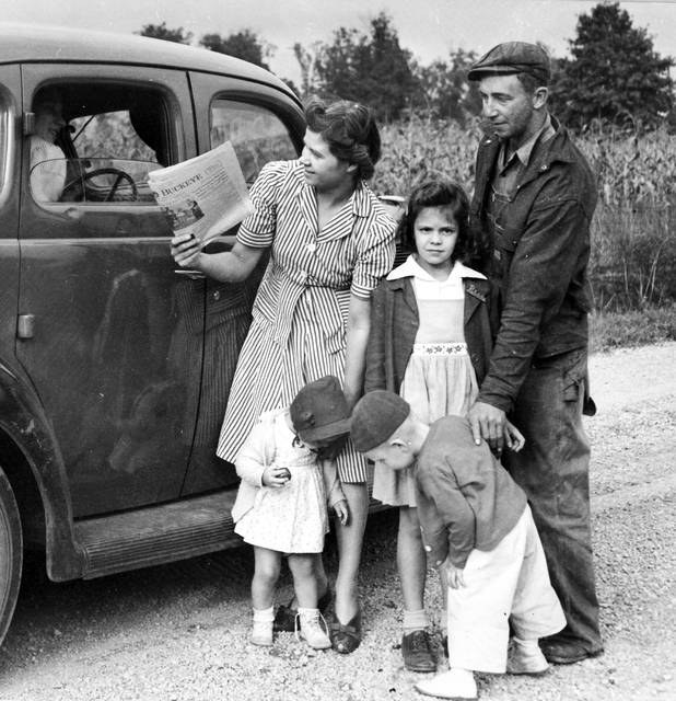 Stephen and Wava Imes with their children, Patty, 8, Billy, 2, and Diane, 1.