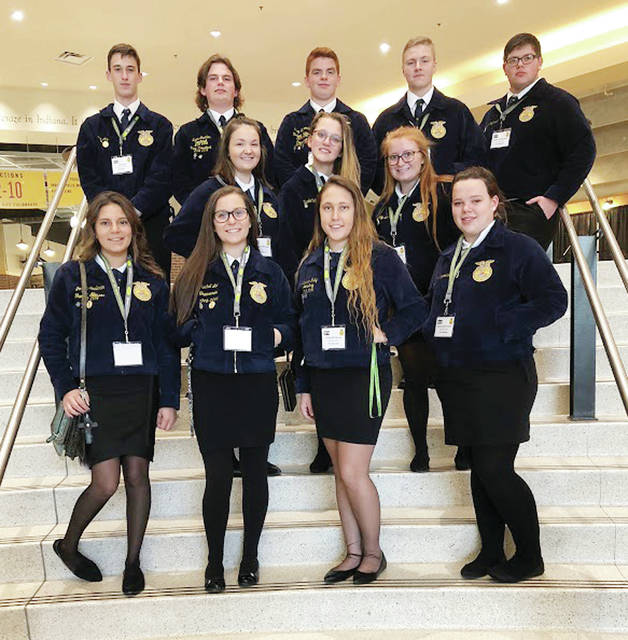 Wauseon FFA members attended the national convention in 2018.