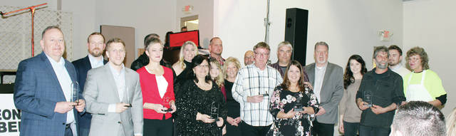 Winners of the annual Wauseon Chamber of Commerce Heart Beat Award.