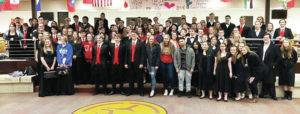 WHS choirs, band earn ratings gold