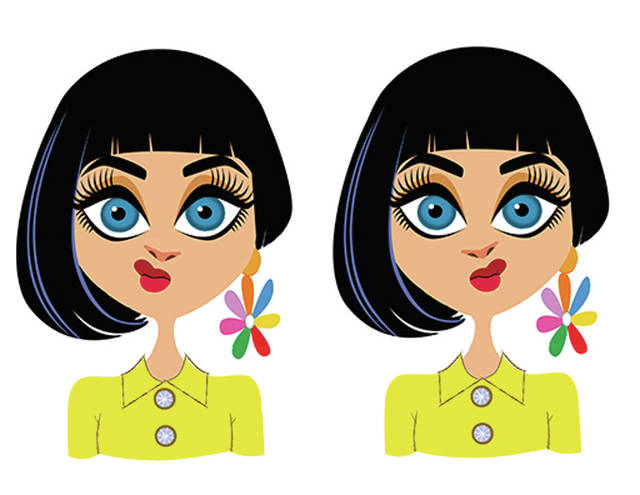 Michael Robertson's illustration of Katy Perry was selected for use in the Pocket Avatars app.