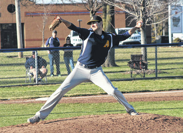 Rigo Ramos of Archbold pitches in a game earlier this season. He was selected NWOAL Player of the Year when the all-league list was announced earlier this week.