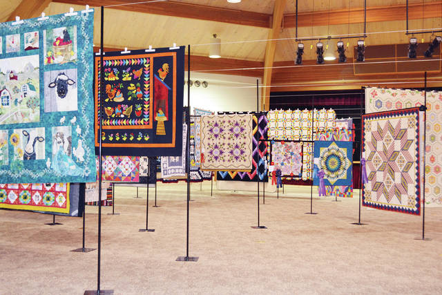 The 43rd Annual Sauder Village Quilt Show is underway.