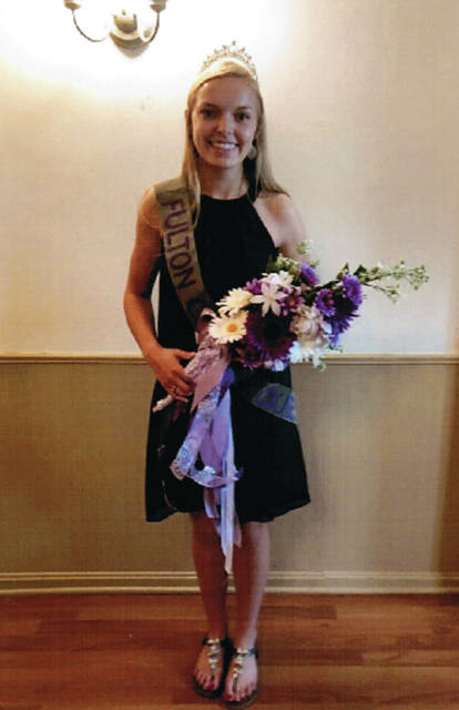 Alexandra Gillen is the 2019-2020 Fulton County Pork Queen
