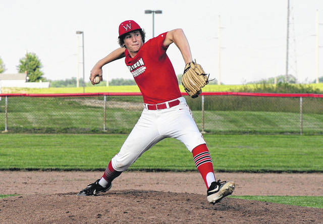 The ACME baseball tournament begins Friday at various sites across northwest Ohio. Seen above, Brady Thomas of Wauseon pitches during an ACME game earlier this summer.