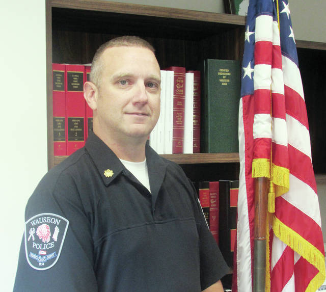 Kevin Chittenden will be sworn in as Wauseon's new police chief Aug. 5.
