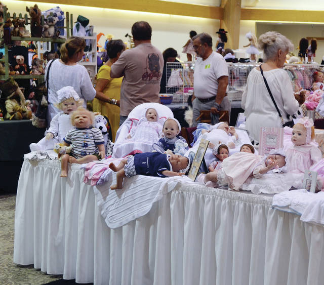 The Sauder Village Doll and Teddy Bear Show and Sale will be held Saturday, Aug. 3.
