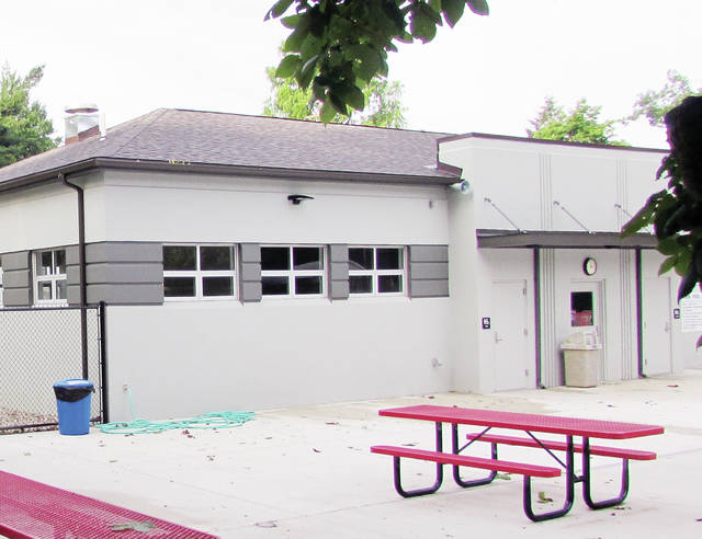 Wauseon City Council members on Monday were apprised of a privacy issue within the city's renovated poolhouse.