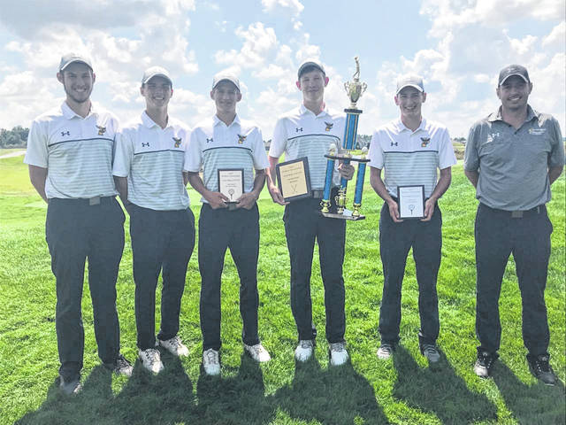 The Pettisville golf team won the Woodmore Wildcat Invitational Wednesday held at Stone Ridge Golf Course in Bowling Green. The Blackbirds finished with a 328 team score, 18 points ahead of runner-up Lakota. Scoring for Pettisville were Tommy McWatters (medalist) with a 76, Max Leppelmeier and Caleb Nafziger who each shot an 81, and Josh Horning with a 90. McWatters, Leppelmeier and Nafziger each made the all-tournament team.