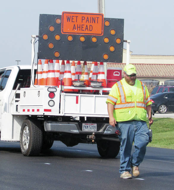 ODOT resurfacing projects on Airport Highway are scheduled to wrap up by mid-October.