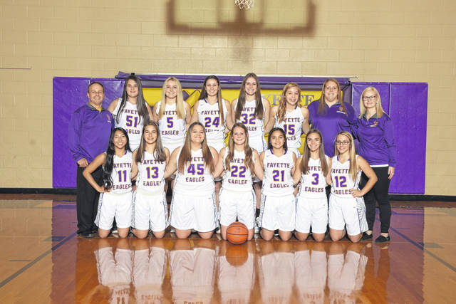 The 2019-20 Fayette girls basketball team.