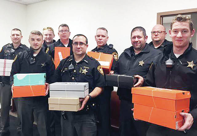 The Fulton County Sheriff's Office recently delivered 12 shoeboxes full of toys and supplies for Operation Christmas Child. Sponsored by Samaritan's Purse, a Christian humanitarian aid organization, the program distributes shoeboxes filled with donated items to underprivileged children worldwide.