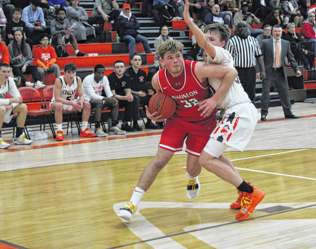 Sean Brock of Wauseon drives inside in a game at Southview Tuesday night. The Indians fell to the Cougars 66-63, dropping their record to 3-1 on the season.