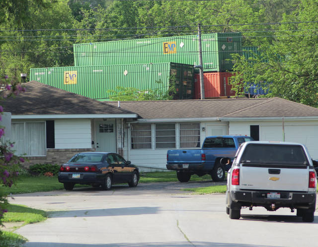 Two locomotives and 13 train cars derailed in Swanton June 6, nearly striking homes.