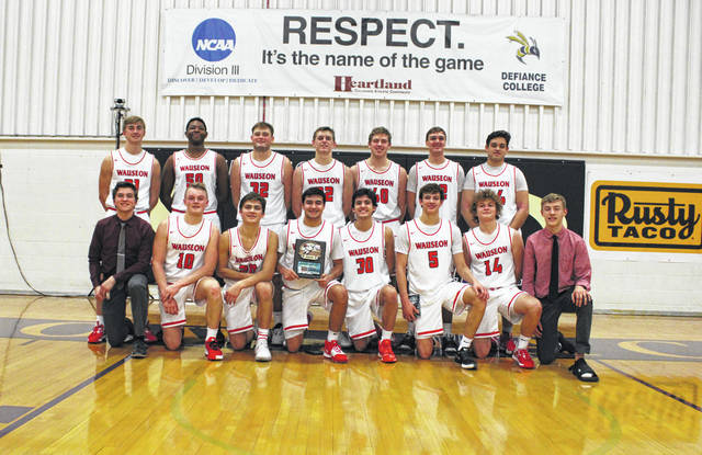 The Wauseon boys basketball team claimed the Grube Family Holiday Classic trophy over the weekend. They defeated Paulding 38-37 Friday and Bryan 50-36 on Saturday in the championship.