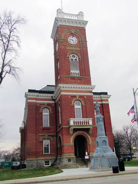 The renovated courthouse will hold an open house in January.
