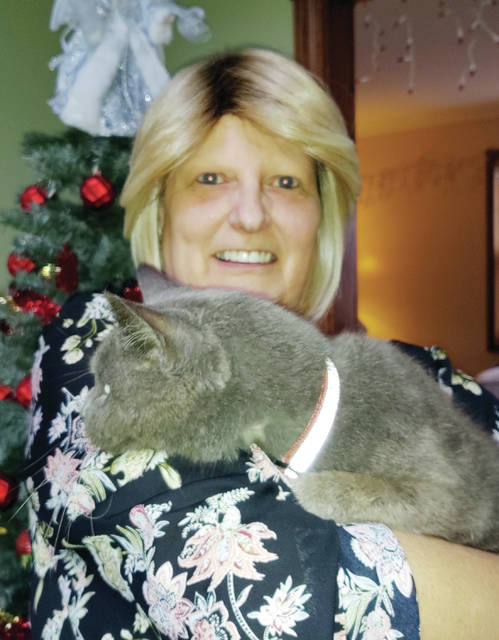 Brenda Norris was reunited with her pet cat Jack after he went missing two years ago.