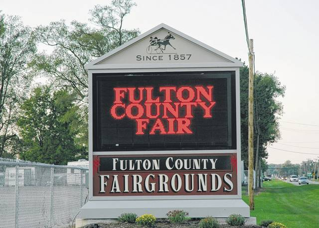 A new building is planned north of the Fulton County Fairgrounds grandstand.