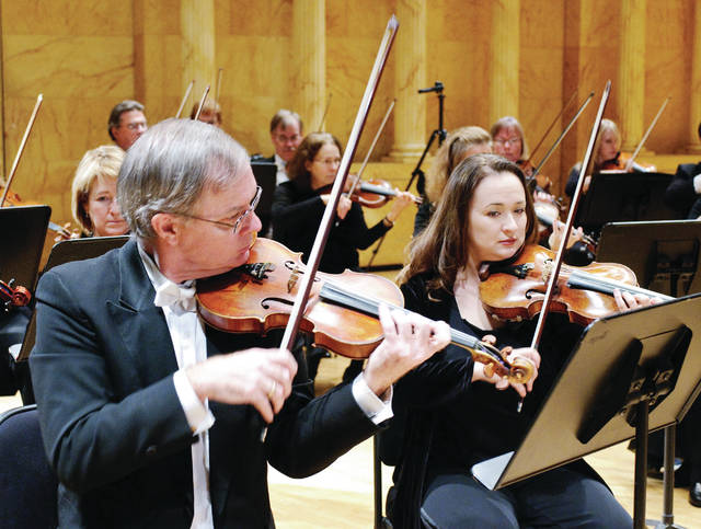 Members of the Toledo Symphony Orchestra will play at Sauder Village in March.